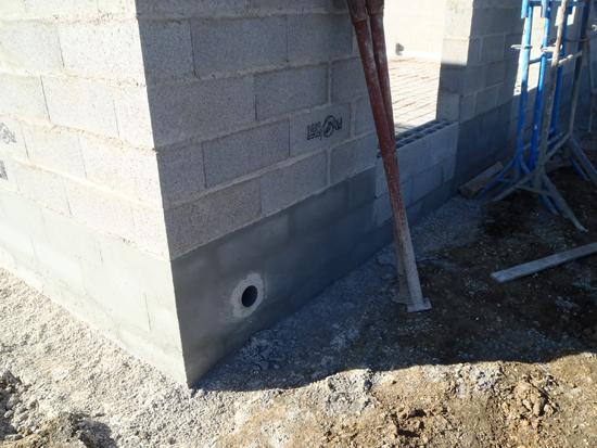 Suivez l 39 un de nos chantiers for Soubassement d une maison