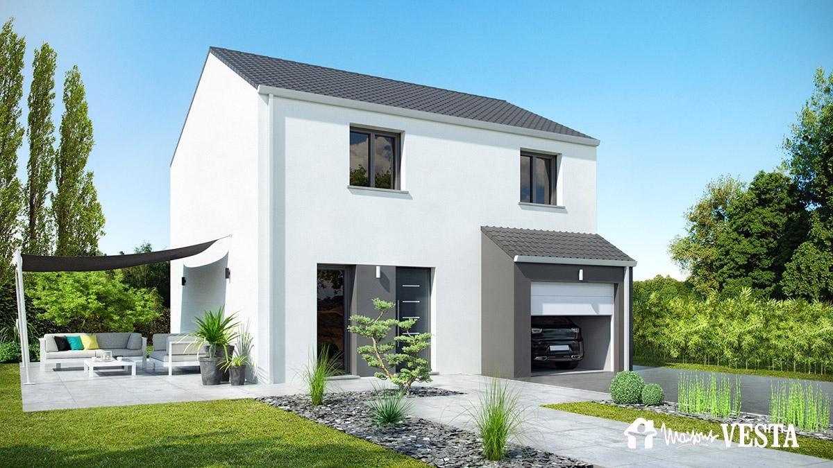 Maisons construire secteur de longwy lorraine for Modele maison vesta