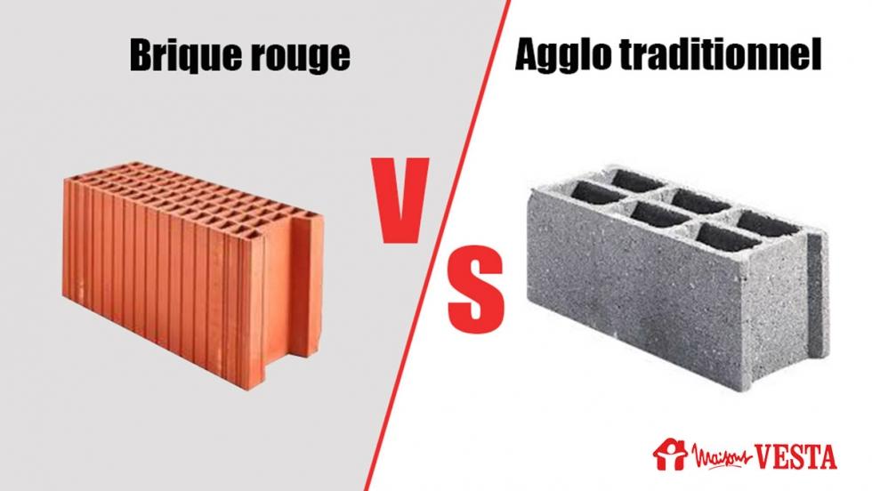 Brique traditionnelle ou brique rouge ?