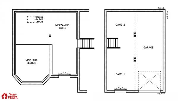 Mod le nebraska maison traditionnelle construire de for Modele maison vesta