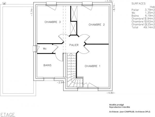 Mod le n mo maison contemporaine construire de type for Modele maison vesta