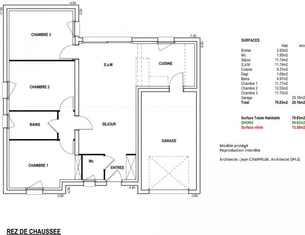 Mod le robinson maison contemporaine construire de for Modele maison vesta