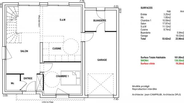 Mod le sinbad maison contemporaine construire de type for Modele maison vesta