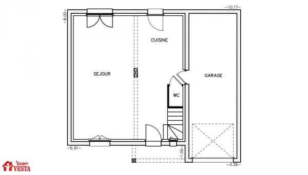 Plan maison demi sous sol conceptions de la maison for Plan maison demi niveau