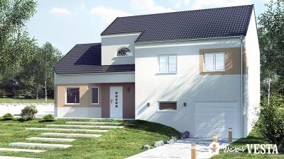 Modele de maison Nebraska à construire avec Maisons Vesta