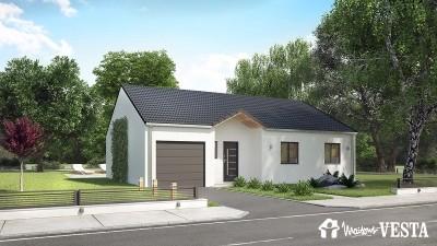 Modele de maison Louisiane à construire avec Maisons Vesta