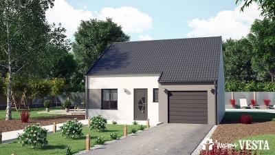 Modele de maison MyFirst - Economique à construire avec Maisons Vesta