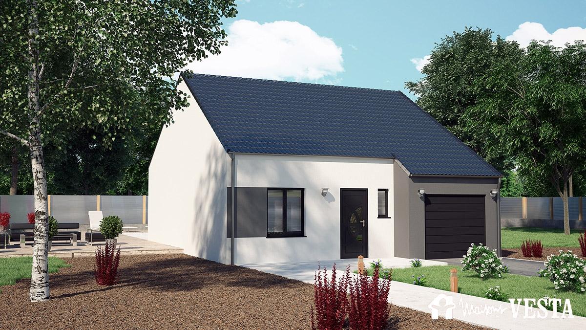 Mod le myfirst vesta maison construire de type mod les for Modele maison vesta