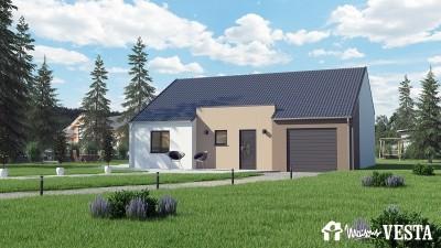 Modele de maison Robinson à construire avec Maisons Vesta