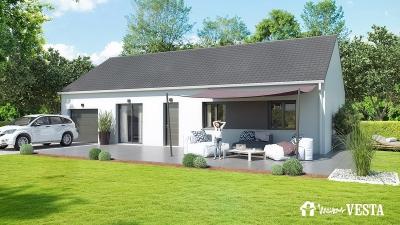 Modele de maison NOUVEAU - MyFirst 91 à construire avec Maisons Vesta