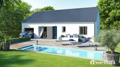 Modele de maison MyFirst 80 à construire avec Maisons Vesta