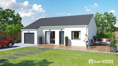 Modele de maison NOUVEAU - MyFirst 75 à construire avec Maisons Vesta