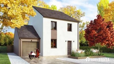 Modele de maison Seattle 83 à construire avec Maisons Vesta