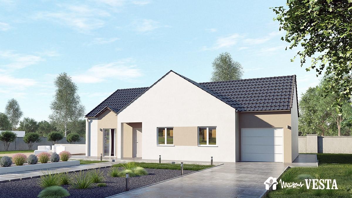 Mod les de maisons traditionnelles sur plans construire for Modele de maison a construire plain pied