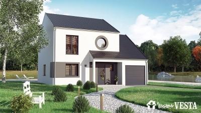 Modele de maison Marquises à construire avec Maisons Vesta