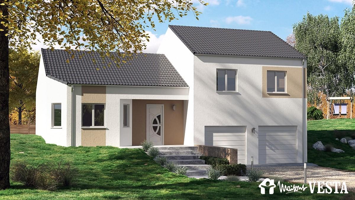 Mod le montana maison construire de type mod les demi for Bow window maison