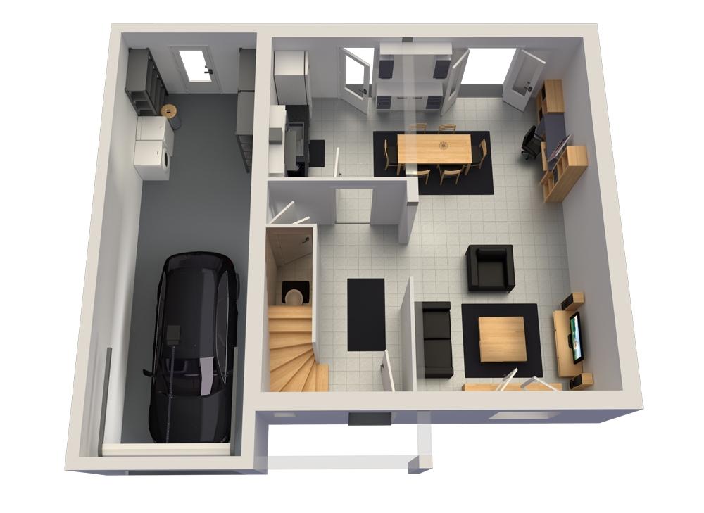 Construisez votre maison fleury 57420 avec maisons vesta for Modele maison vesta
